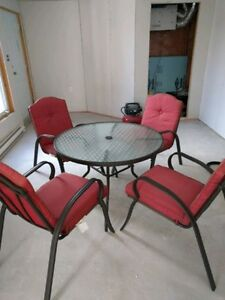 Patio Set for Sale Table and 4 chairs