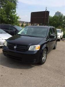 2010 Dodge Grand Caravan SE, seven seater,stow and go,certified