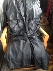 Real Leather:skirt, long coat, boots, wallet, bag Kitchener / Waterloo Kitchener Area image 2