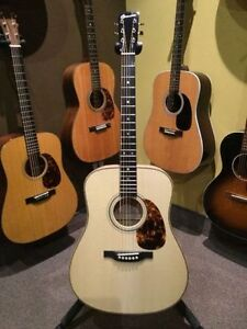 GUITARE ACOUSTIQUE BOUCHER DREADNAUGHT STUDIO GOOSE ÉRABLE ONDÉ