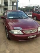 2001 Ford Falcon Auii Forte Burgundy 4 Speed Automatic Sedan Wentworthville Parramatta Area Preview