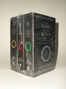 New in plastic  The Lord of the Rings (3 Book Box set)