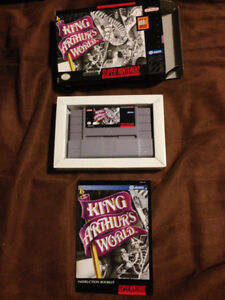 Selling King Arthur's World for SNES Complete in Box!