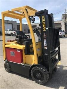 Hyster forklift electric , Chariot elevateur 5000 Lbs , 2011