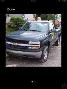 2000 Chevrolet 2500 4x4 Myers plow setup