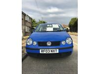VOLKSWAGEN POLO - ONLY 60,000 GENUINE MILES - GREAT CONDITION