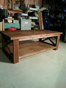 Rustic Handcrafted coffee table