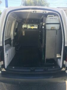 2012 Volkswagen Caddy 2KN MY12 TDI320 Maxi DSG White 6 Speed Sports Automatic Dual Clutch Van