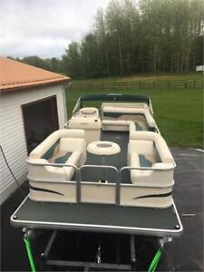 2005 Sweetwater Challenger 220RE With Honda 40 HP Fourstroke