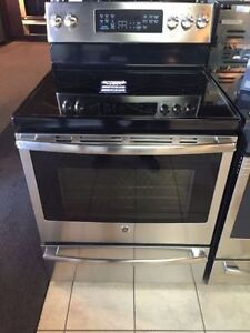 """GE 30"""" Stainless Convection Range"""