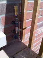 Gas lines for Pool Heaters,Stoves, BBQs, Dyers & Hook Up