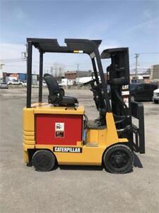 Chariot elevateur Caterpillar Electrique electric forklift Cat