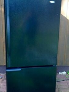 Black Maytag Fridge