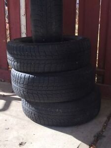4 set Michelin 215/65R16 x-ice winter tires without rims