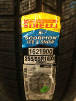Brand New Pirelli Scorpion Ice & Snow 255/55R18 BMW Porsche Merc