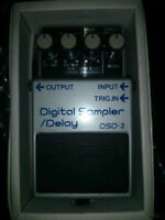 Neuve 1985 Boss DsD-2 ( DD-2 Big Ship ) digital delay / sampler