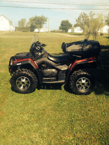DEAL !! 2010 CAN AM OUTLANDER MAX 800 LIMITED ONLY 6900$ !! NEG