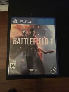 BattleField 1 (PS4) For Trade