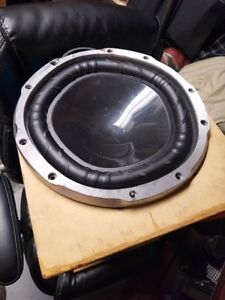"12"" Subwoofer in Custom Ported Tube"