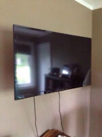 """Dynex 40"""" LED tv and Full Motion Wall mount"""