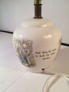 PETER RABBIT BEATRIX POTTER LAMP Kitchener / Waterloo Kitchener Area image 4