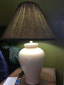 ***** Large Table Lamp - Moving + Other Items *****
