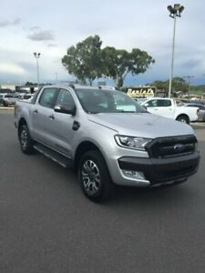 2018 Ford Ranger PX MkII 2018.00MY Wildtrak Double Cab Silver 6 Speed Sports Automatic Utility Goulburn Goulburn City Preview