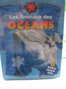 Les animaux des Régions polaires et les animaux de l'océans