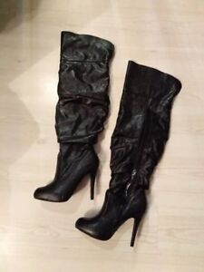 Barely Worn Thigh High Boots