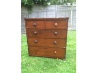 Old chest of drawers
