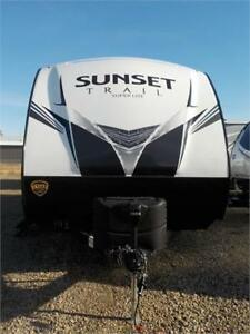 JUST ARRIVED!! NEW 2019 SUNSET TRAIL 262 BH TRAVEL TRAILER (TT)