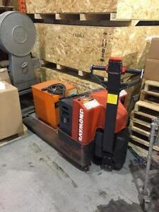 Used electric pallet truck, walkie, pallet jack