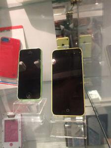 Iphone 5C Bell Virgin Telus Koodo Comme neufs+Garantie
