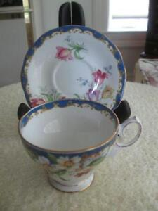 GORGEOUS OLD VINTAGE CHINA CUP & SAUCER