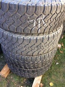 LT245/75R17 TOYO OPEN COUNTRY all season tires