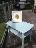 Painted gibbard table