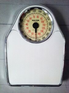 RARE Mid C. SALTER Analog Personal SCALE Antique Vintage