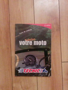 livre pour le cours de moto