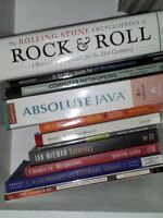 $20 for collection of Novels, Textbooks and Travel Guides