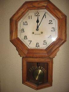 Horloge Regulator circa année 1900