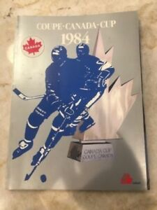 NHL Collectible - 1984 Canada Cup program