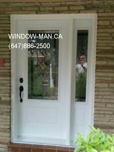 Entry Door OneSideLight Front  Best Pricing and Service
