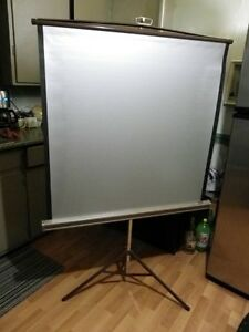 "Da-Lite Projection Screen ""Silver Pacer"""