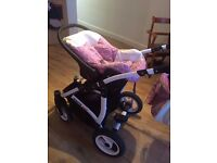 3 in 1 stroller great condition