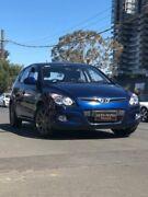 2012 Hyundai i30 FD MY12 SX Blue 4 Speed Automatic Hatchback Granville Parramatta Area Preview