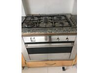 For sale Smeg gas hob with electric oven