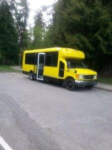 Shuttle bus for sale at a great price