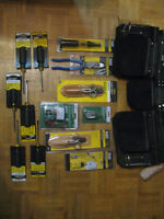 Electrician tools and tool bag 150.00