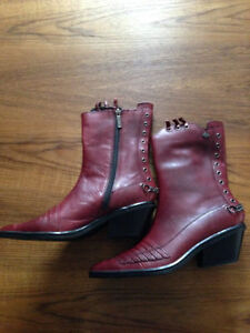 NEW HARLEY-DAVIDSON & HUSH PUPPIES LEATHER BOOTS