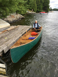 18' James Bay Freighter Canoe